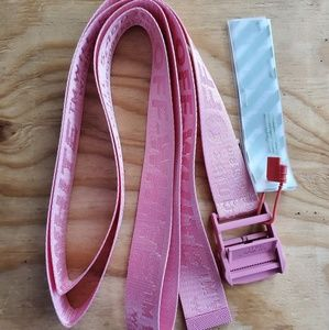 Pink Off-White Belt